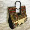 Ivory Authentic Dashiki Hard Body Hand Bag
